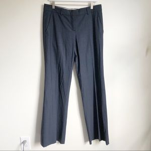 Theory black career slacks